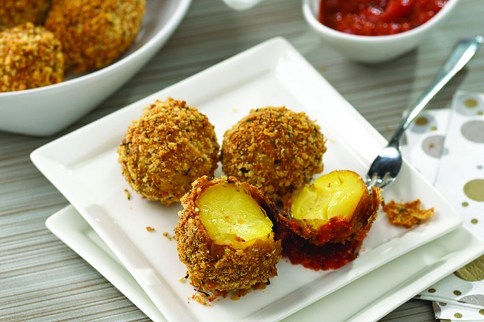 Panko potato balls