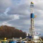 Guernsey County well rig