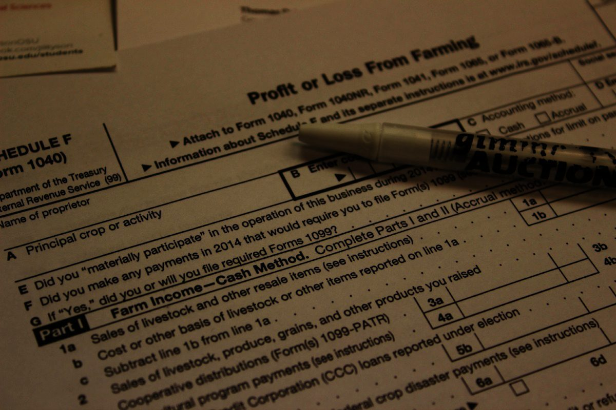 Tax Filing On The Farm Tips For 2015 Farm And Dairy