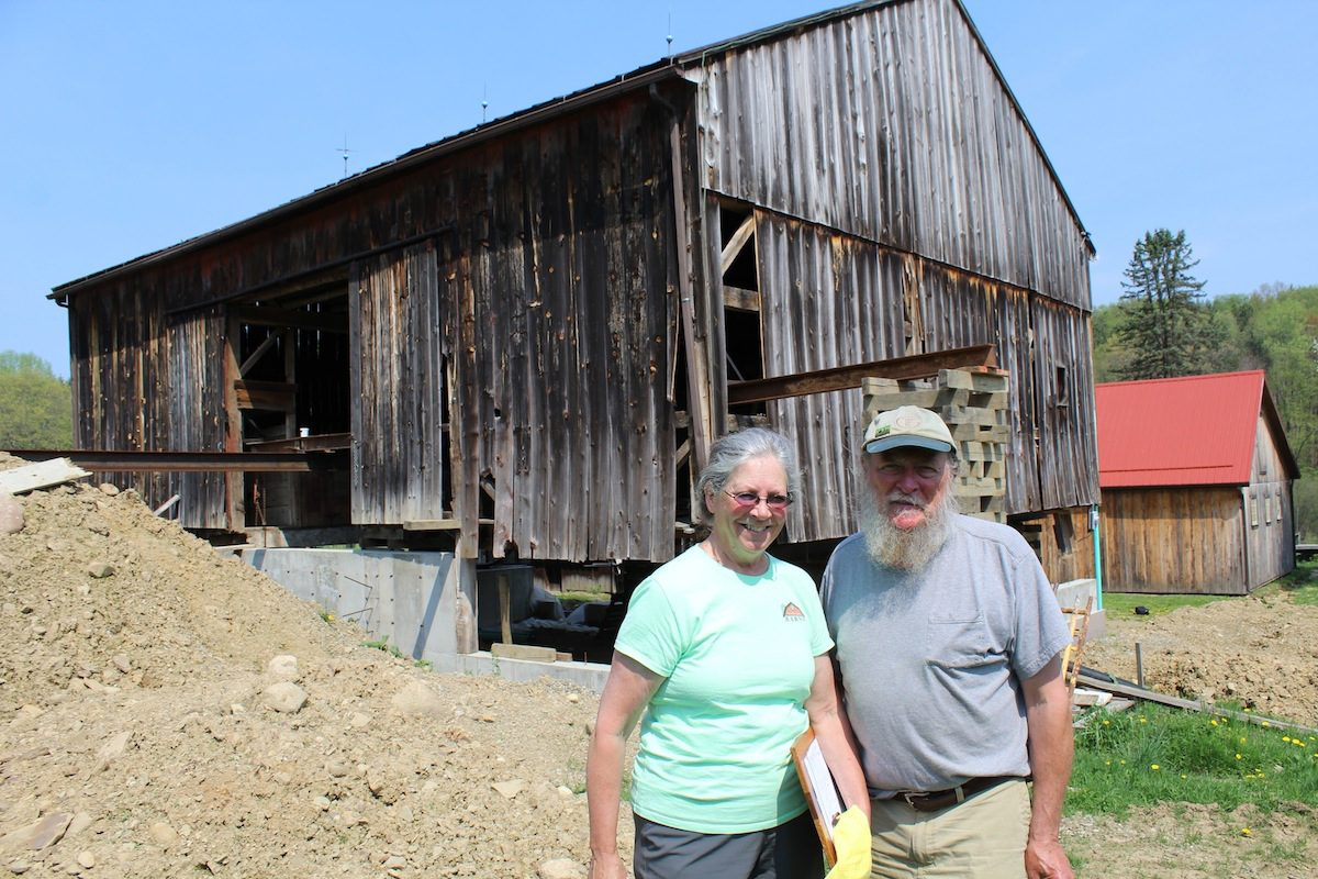 Ohio Timber Framer Connects Generations Through Old Barns Farm And