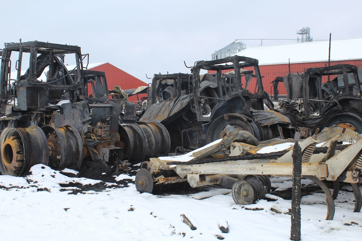 Auctions In Ohio >> Fire destroys Medina County farmer's equipment - Farm and Dairy