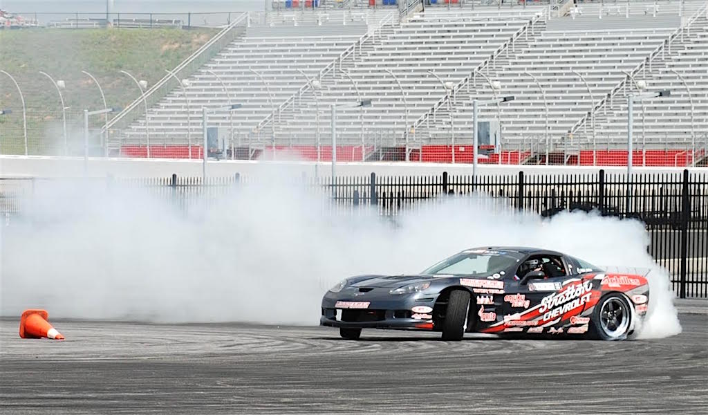 Dirk Stratton Of Beloit Ohio With His Drift Car In Action