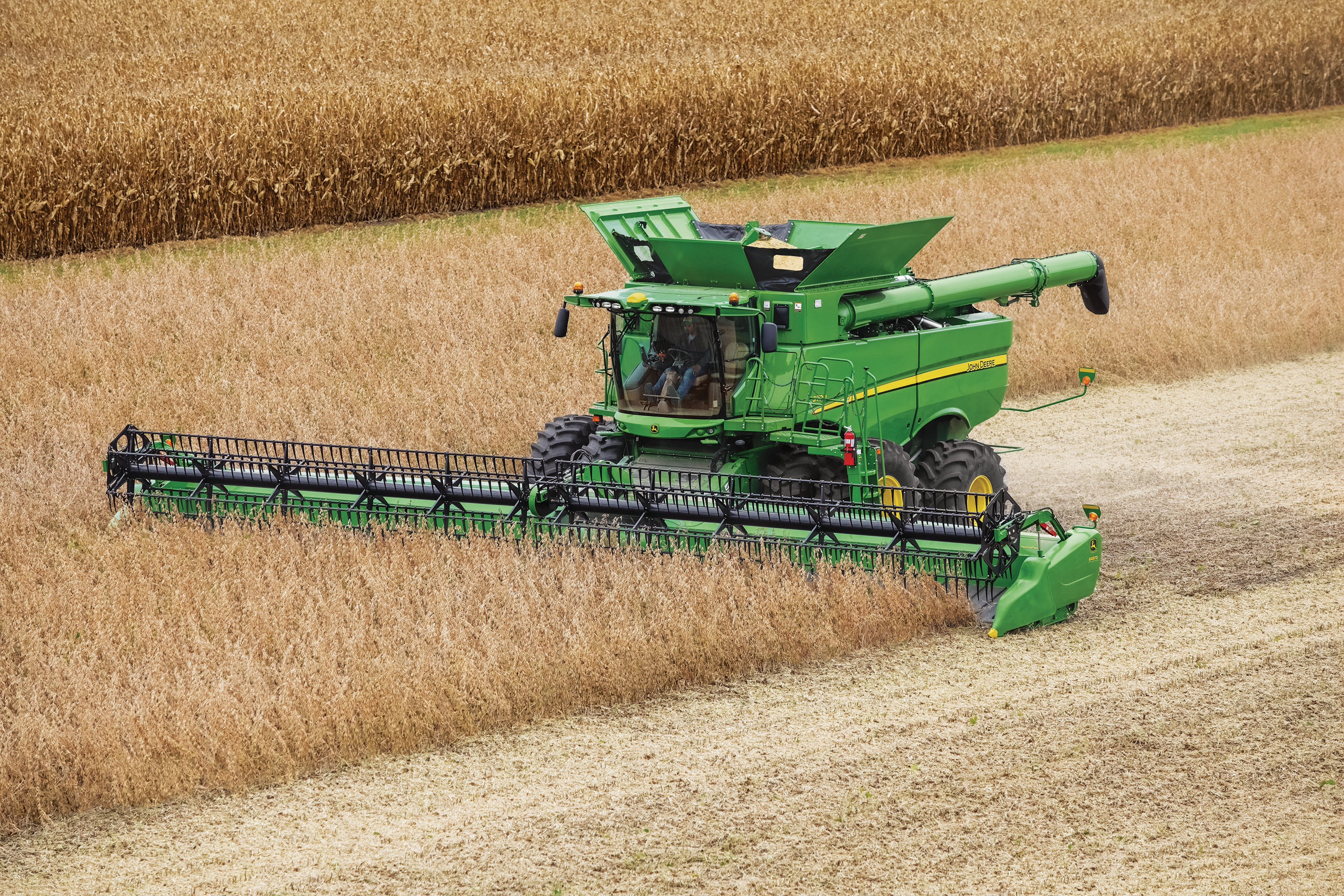the john deere s700 series combine was recognized by the american society of agricultural and biological engineers and association of equipment