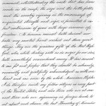 Page 2 of President Lincoln's Thanksgiving Proclamation
