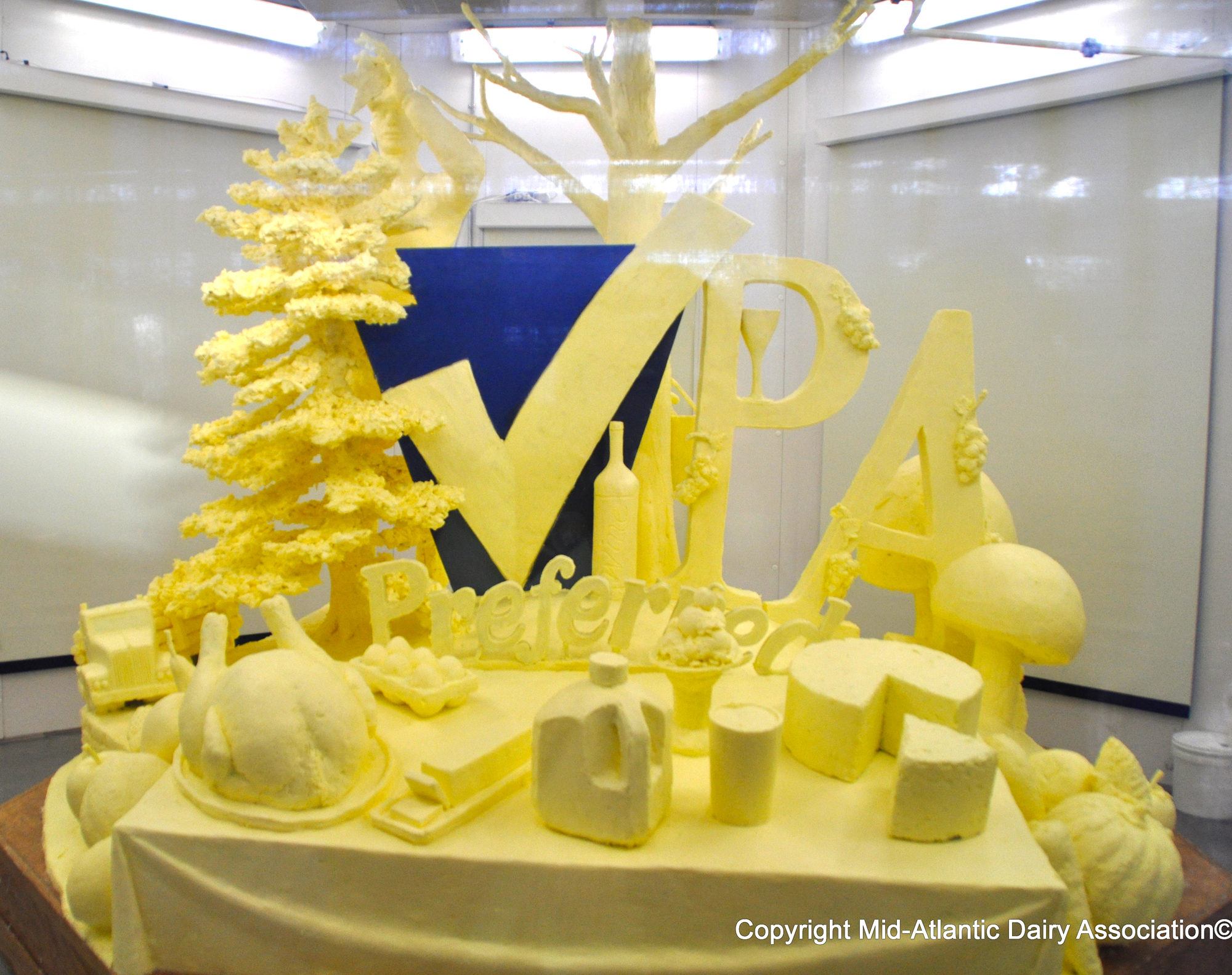 2013 PA Farm Show Marks Opening With 1,000-pound Butter