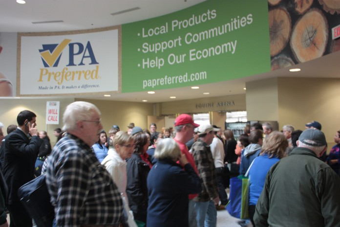 Crowds at the 2013 Pennsylvania Farm Show