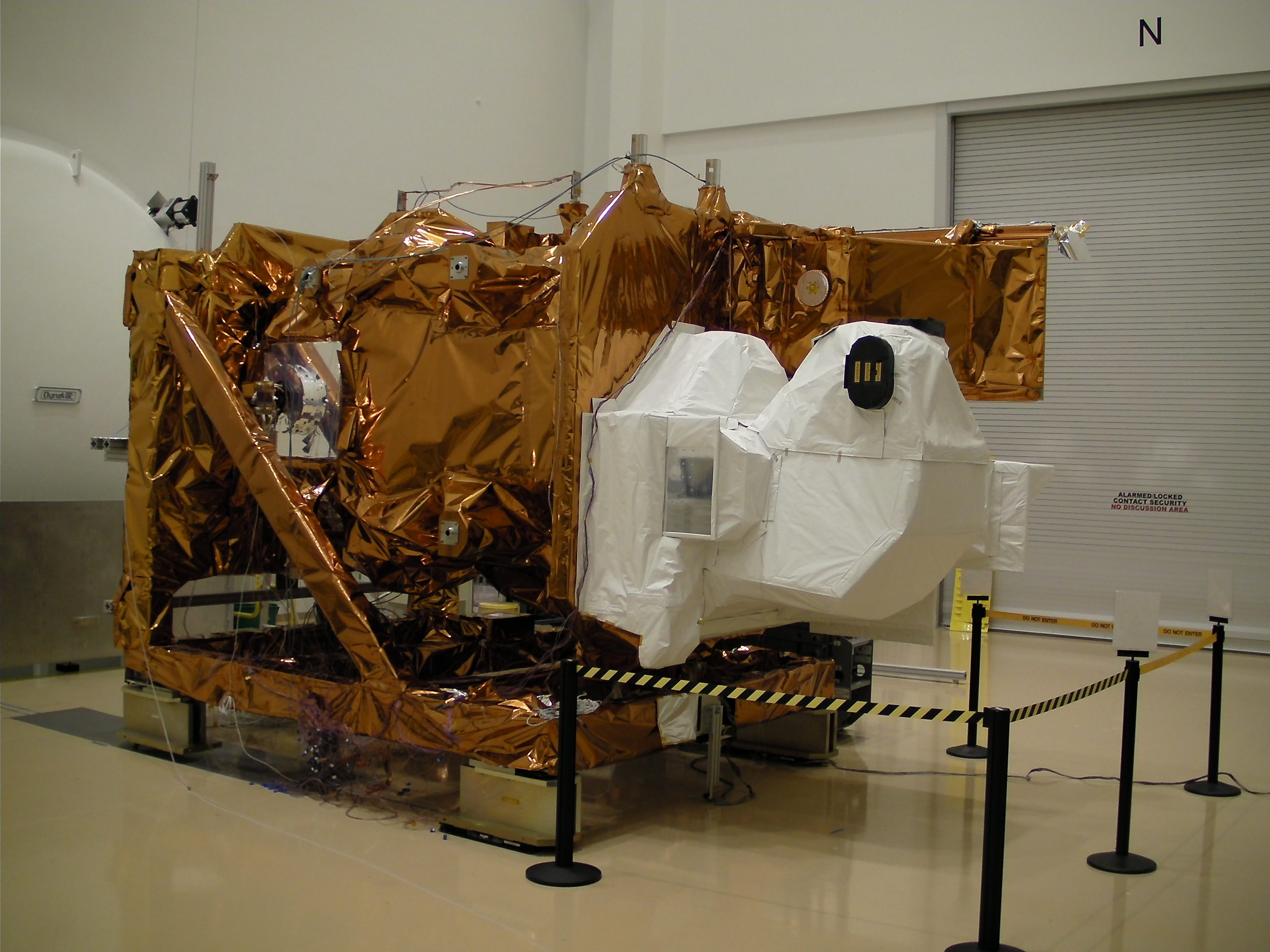 photo of Nasa satellite