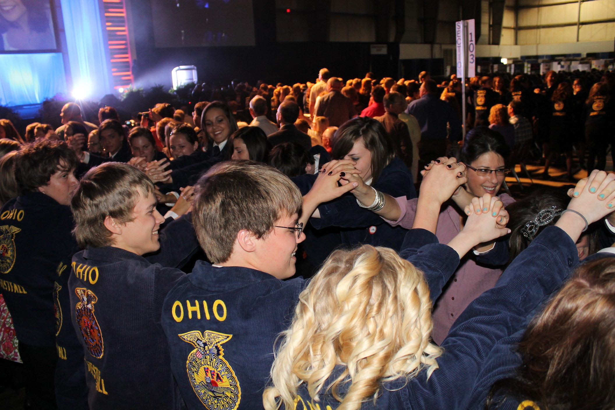 Ohio FFA Convention 2013 - Farm and Dairy