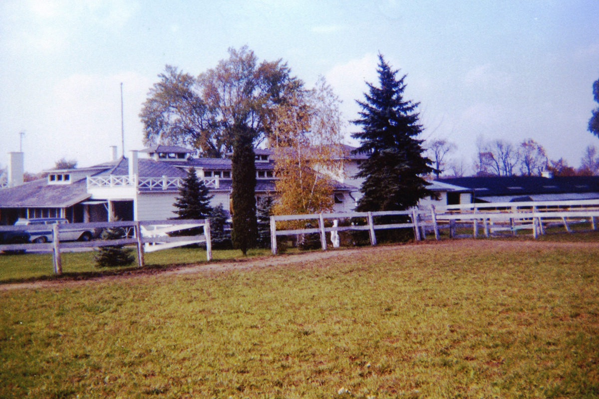 "(Photo courtesy Boardman Township Park) The late Janie S. Jenkins, known to Farm and Dairy readers for her ""On My Mind"" column, donated her Southern Park Stables home to Boardman Township Park. The park recently decided to give the use of the stables and site, shown here in 1964, to the Mahoning County 4-H program."