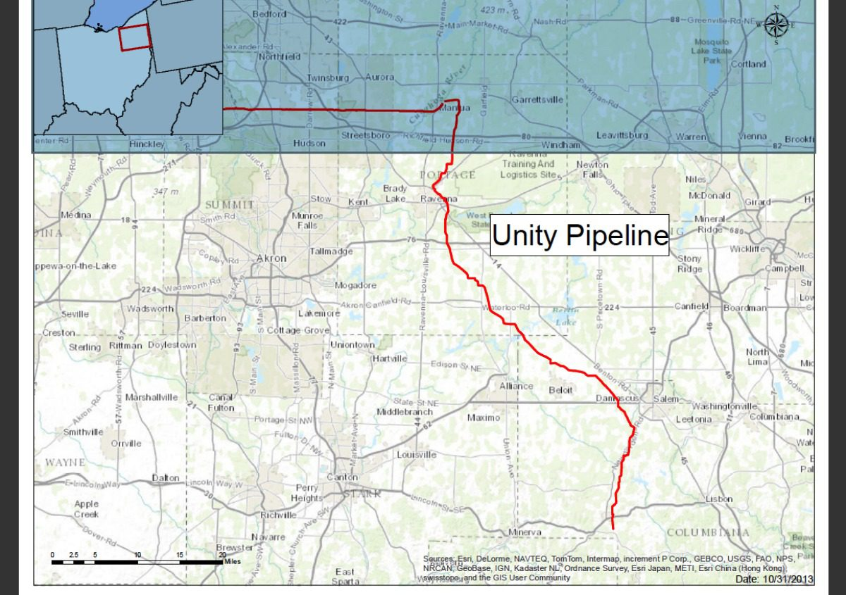 Unity Pipeline will move oil and gas byproducts north
