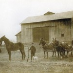 Vintage farm photo, Shively