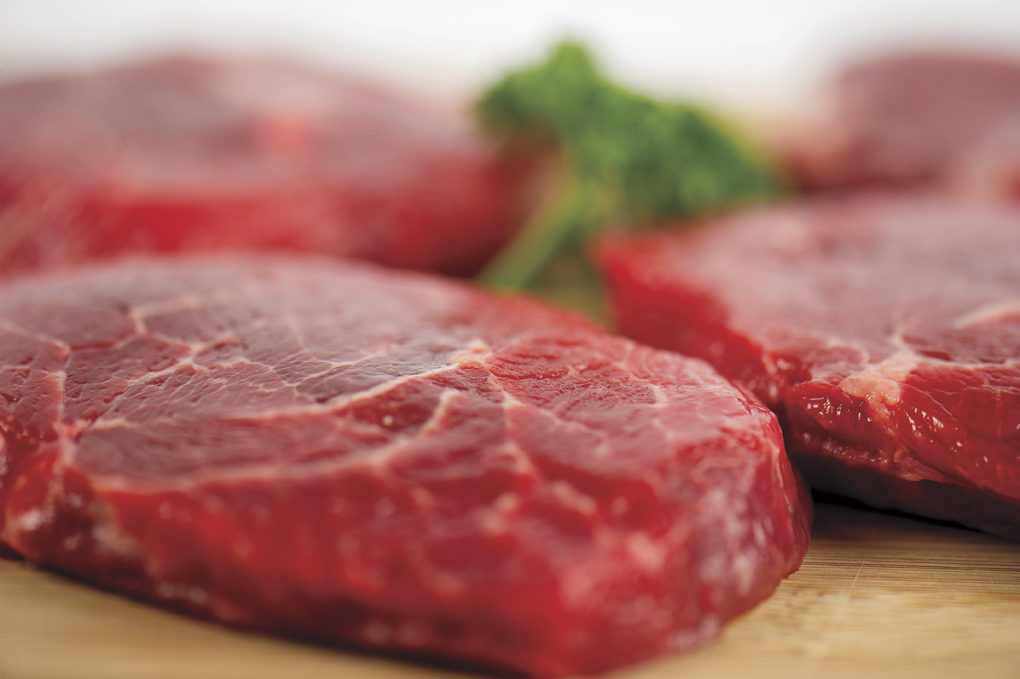 Steak and meat