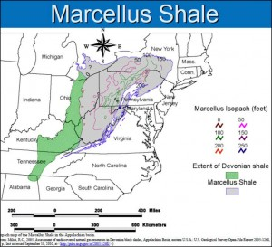 Marcellus-Shale-Map