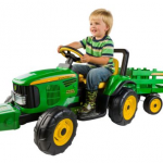 John Deere kids riding tractor