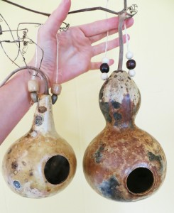 finished gourds