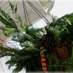 Bough holiday basket