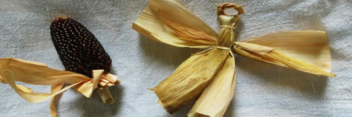 corn husk angel