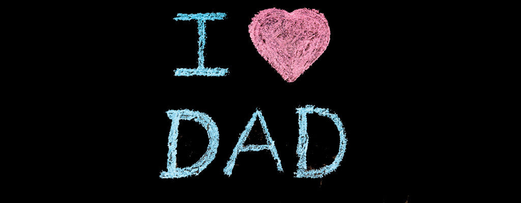 I love dad sign