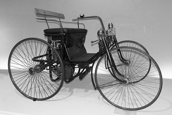 1889 Daimler Motor Quadricycle