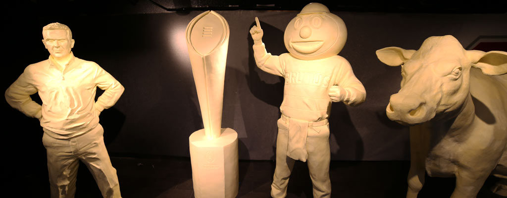 Ohio State Fair 2015 butter sculpture