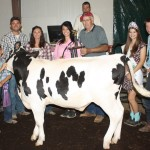 Columbiana County Fair reserve dairy beef feeder