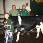 Columbiana County Fair grand champion dairy beef feeder