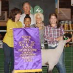 Butler grand champion lamb
