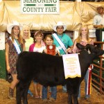 Canfield Fair reserve champion beef feeder