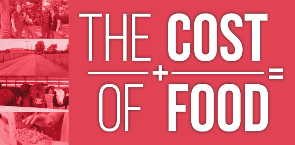 The Cost of Food banner