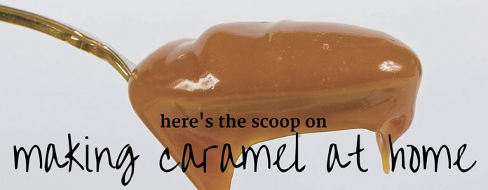 spoonful of caramel