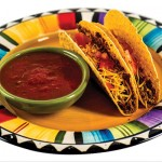 tacos and salsa