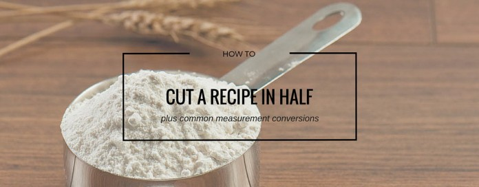 measuring cup of flour
