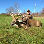 Rob Snow and 11-point buck