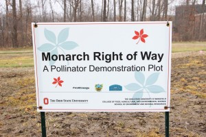 The Monarch Right of Way: A pollinator demonstration plot, will show landowners how they can turn unused plots of land into attractive spaces and help the pollinator population. (Catie Noyes photos)
