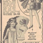 1930s doll ad