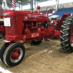 antique Farmall tractor