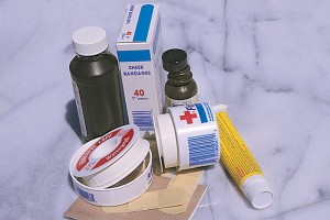 first aid supplies
