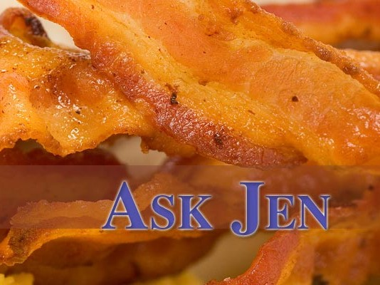 bacon with Ask Jen header