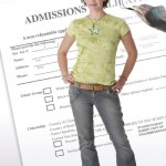 college admissions applicant