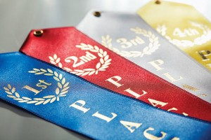 1st, 2nd, 3rd and 4th place ribbons