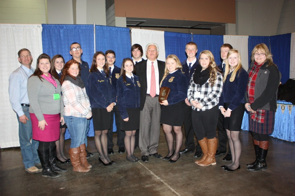 WV small farm conference FFA winners