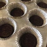 Oreos in cupcake liners