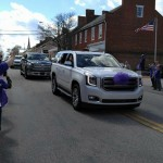 Reese Burdette's homecoming parade
