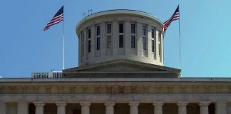 Front of Ohio Statehouse