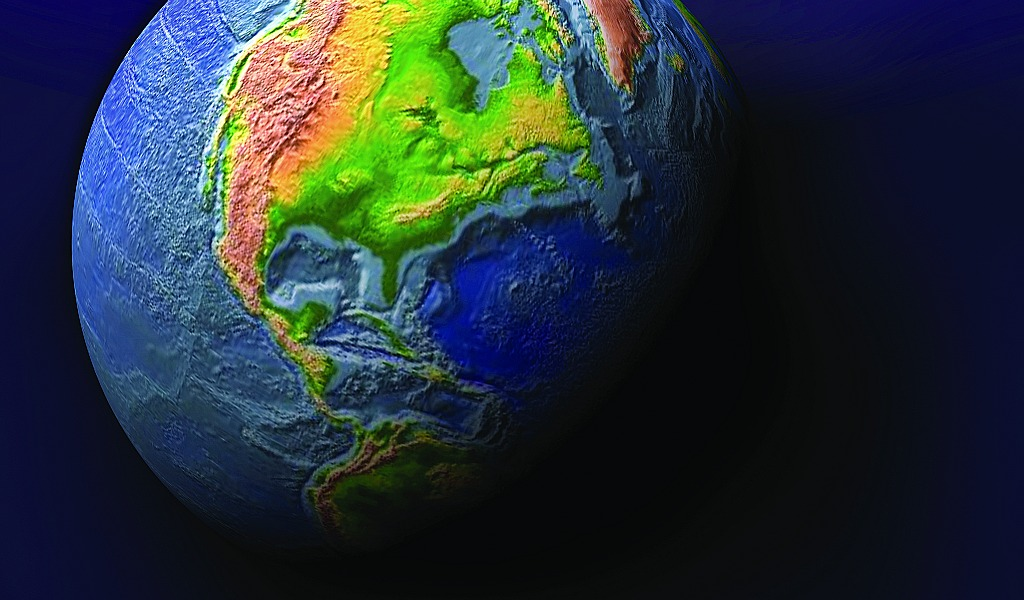 earth from outer space