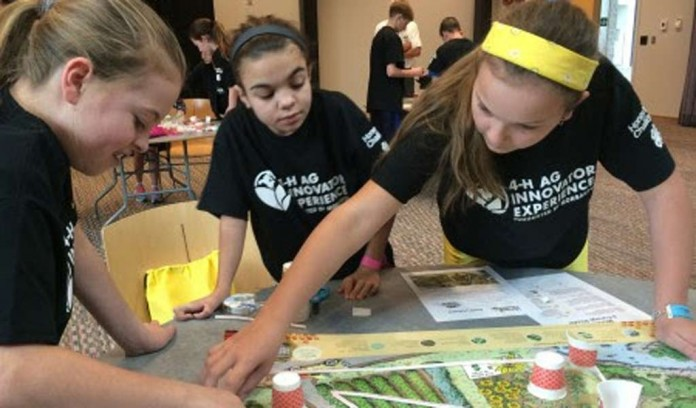 bee bots at 4-H Challenge