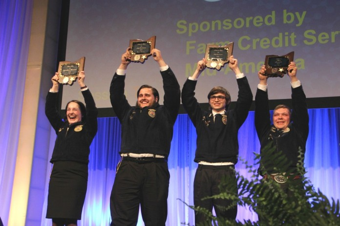 Ohio FFA Convention Star Chapter Awards