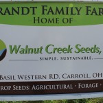 Walnut Creek seeds sign