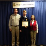 Clayton Campbell of Waterford FFA