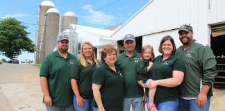 The Sprunger family, of Raygor Farms.